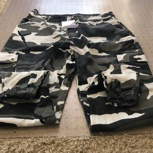 Missguided Oversized Camo Pants
